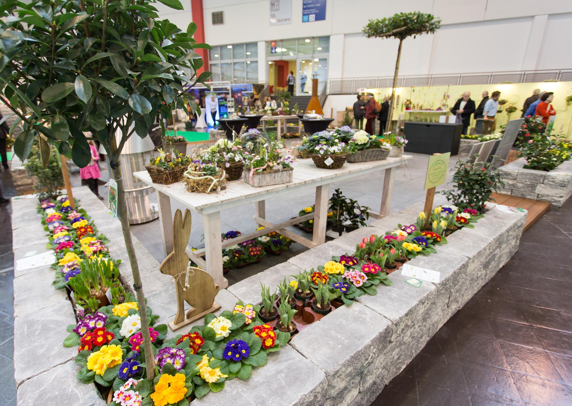 Erfolgreicher Messe Auftritt Andreas Hanik Garten Und