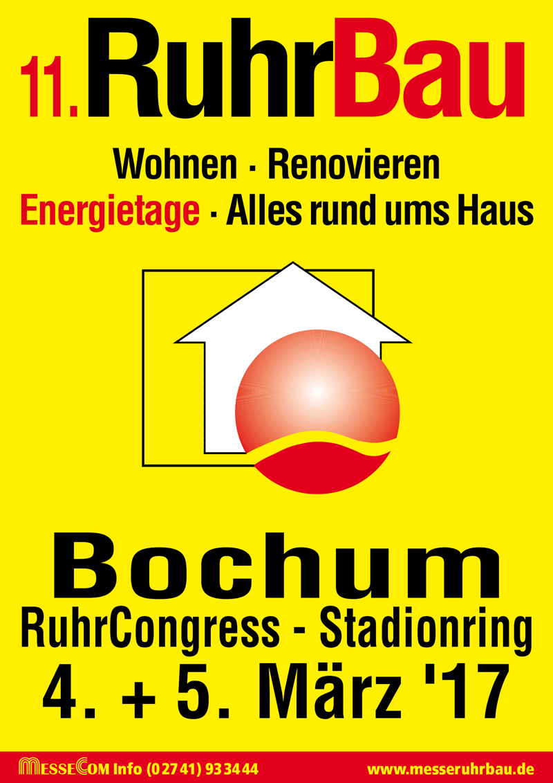 Einladung zur Messe RuhrBau 2017