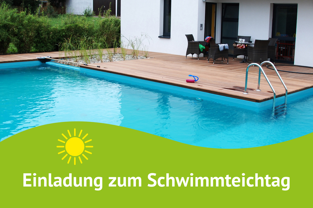 Schwimmteichtag am 26. Mai 2018